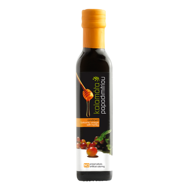 Kalamata Papadimitriou Balsamic Vinegar with Honey – 250ml