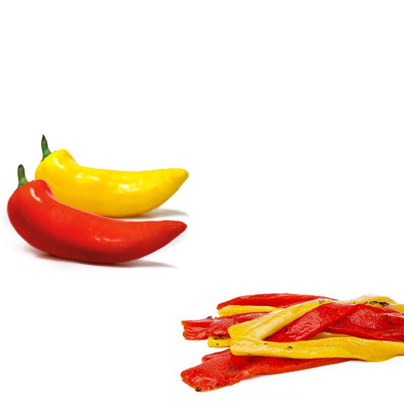 FOS – Greek Red & Yellow Roasted Sweet Pepper Strips