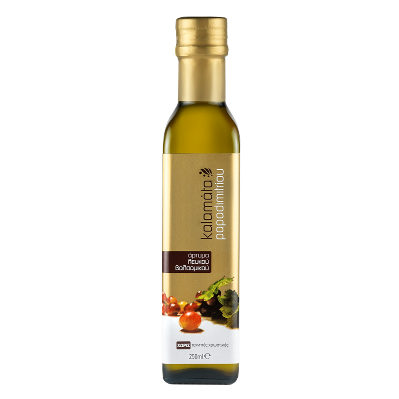 Kalamata Papadimitriou White Balsamic Condiment – 250-500ml