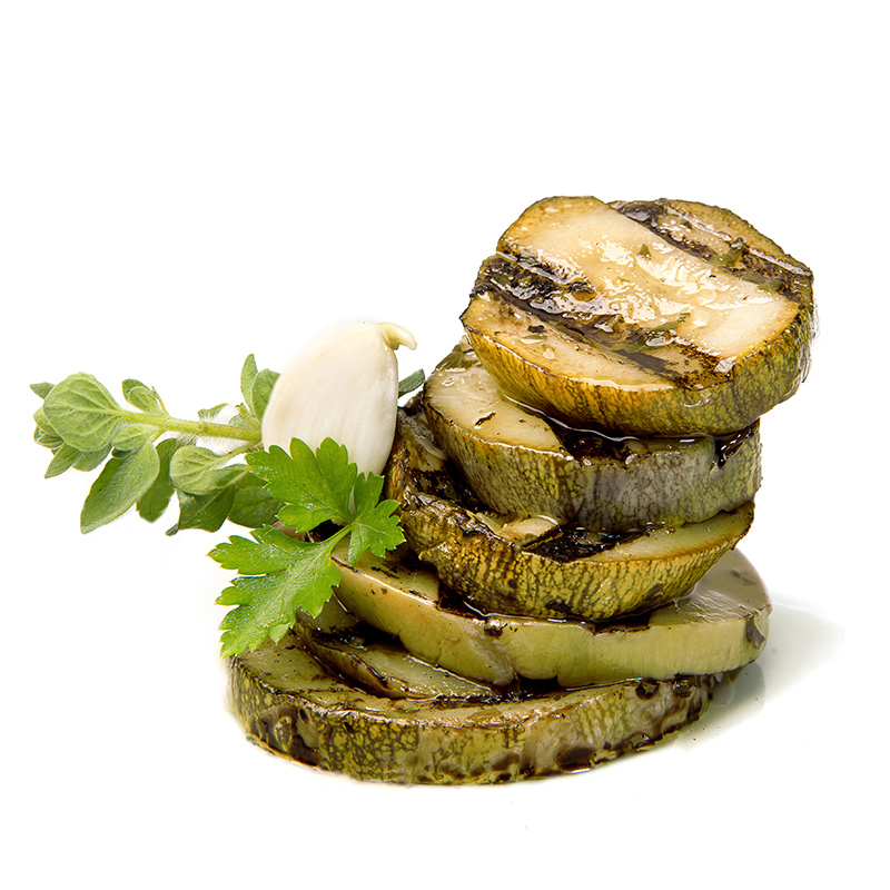 FOS – Greek Grilled Zucchini