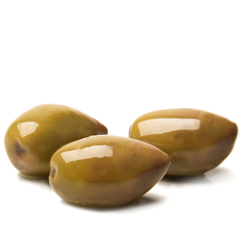 Kalamata Blonde olives whole