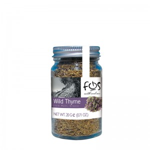 FOS – Greek Wild Thyme – glass jar 20gr