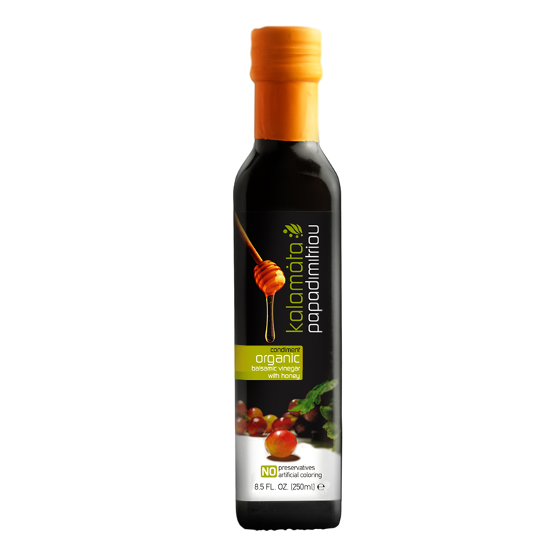 Kalamata Papadimitriou Bio Balsamic Vinegar with honey – 250ml