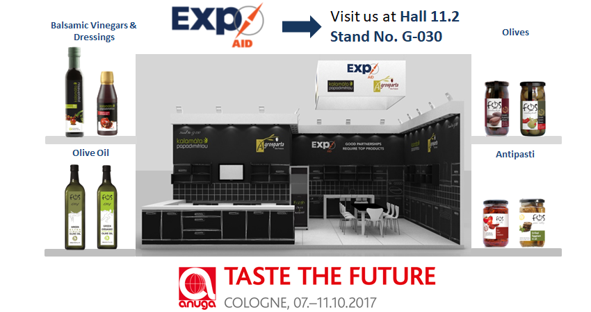 Come and visit us at Anuga 2017