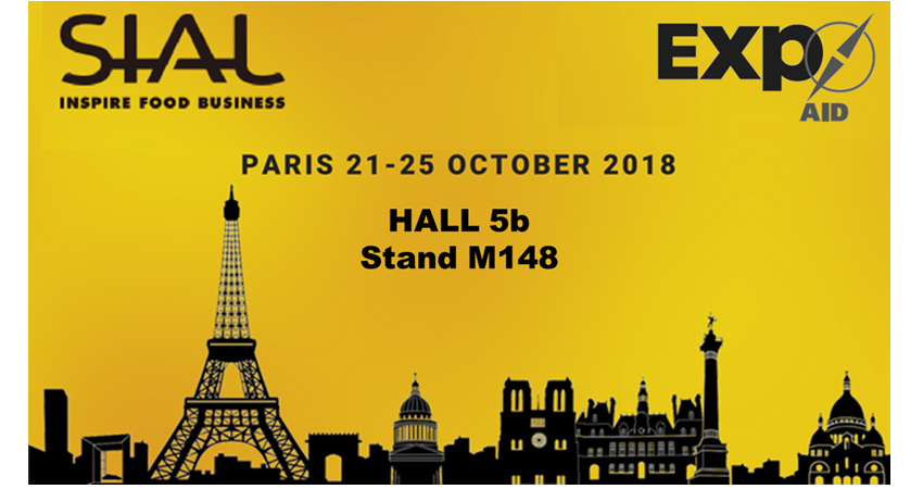 Let's meet at Sial 2018