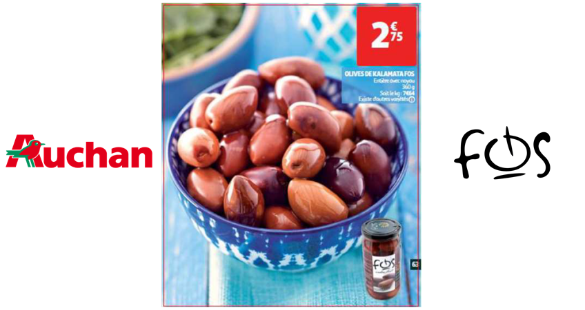 fos Kalamata Olives - Promotion at Auchan