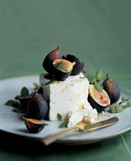 Organic Goat Cheese with Fig