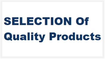 Selection_QualityProducts
