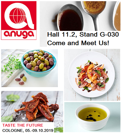Experience the leading food fair in Cologne, Anuga Food Trade Show 2019