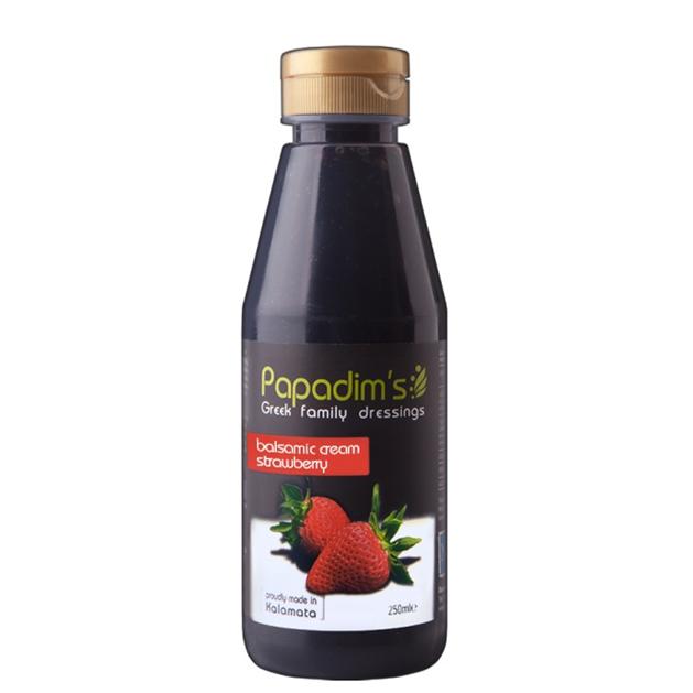 Papadim's Balsamic Cream Strawberry 250ml