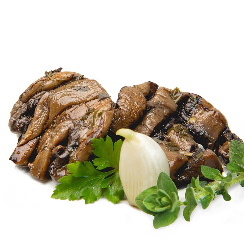 FOS – Greek Grilled White Button Mushrooms