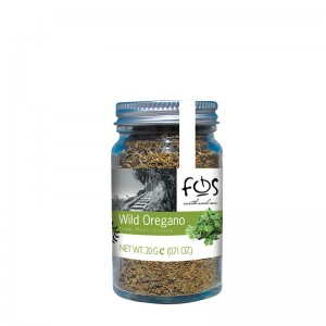 FOS – Greek Wild Oregano – glass jar 20gr