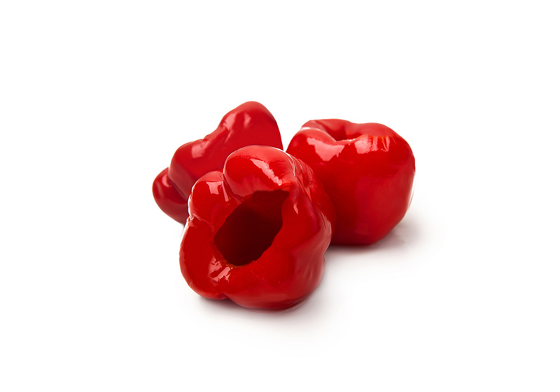 FOS – Greek Red Cherry Peppers