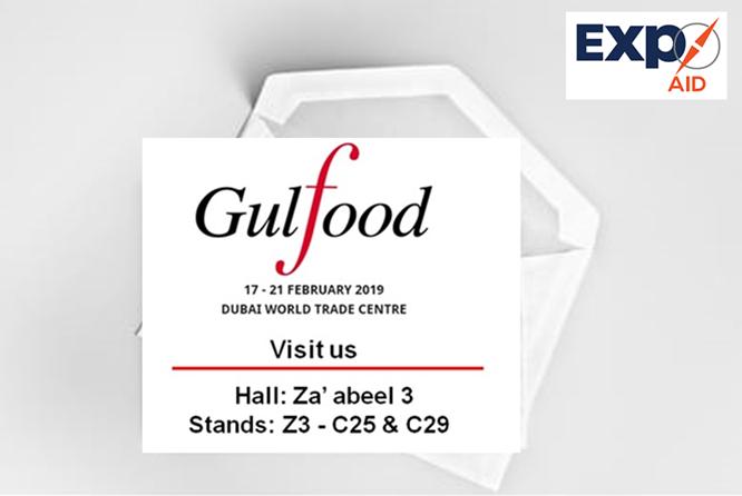 Gulfood 2019 Invitation